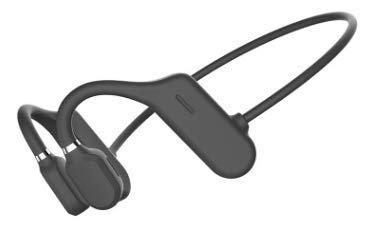 Bluetooth 5.0 Auriculares de Conducción ósea con Micrófono, Auriculares Abiertos Inalámbricos a Prueba de Sudor,...