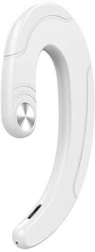 GRACEZING Tooth Auriculares Inalámbrico Conducción ósea de un oído Sonido ABS Tipo de Gancho para la Oreja...
