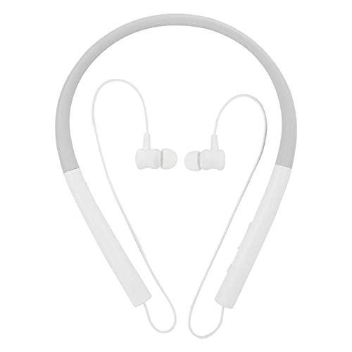 Cloudbox Auricular Bluetooth-Deportes Auriculares inalámbricos Bluetooth Auriculares Colgantes en el Cuello Blanco para...