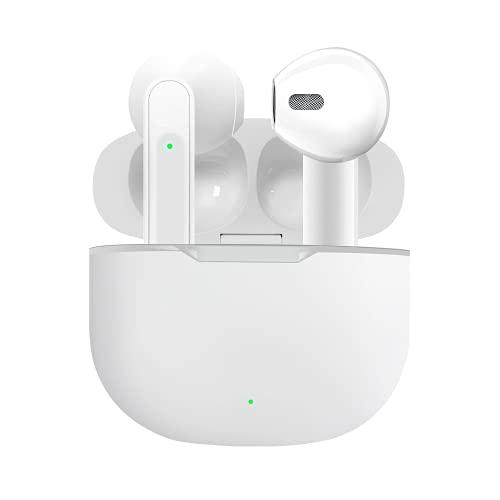 Auriculares inalámbricos Bluetooth 5.0 con cancelación de Ruido IPX5, Impermeables, micrófono Integrado en la Oreja,...