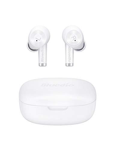 Auriculares Bluetooth, Bluedio Ei Auriculares Inalámbricos Cascos Bluetooth 5.0 Estéreo In-Ear con Caja de Carga...