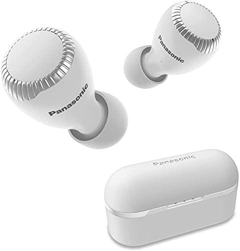 Panasonic RZ-S300WE-W - Auriculares True Wireless inalámbricos con Sensor táctil (Bluetooth, Estuche de Carga,...