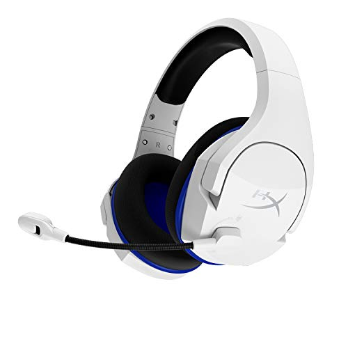 HyperX Cloud Stinger Core: Auriculares inalámbricos para Juegos de PS4, PS5 y PC; Ligeros; Controles deslizantes de...