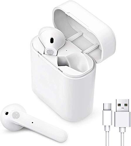 Auriculares Bluetooth,Auriculares inalámbricos Bluetooth 5.0 con reducción de Ruido,Cascos Inhalabricos In Ear de IPX5...