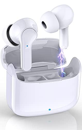 Auriculares Inalámbricos Bluetooth, Donerton Auriculares Bluetooth 5.0 con Estéreo Micrófono Cascos In-Ear, IP7...