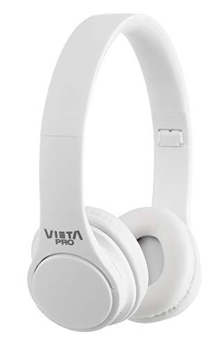 Vieta Pro Wave – Auriculares inalámbricos (Bluetooth, Radio FM, micrófono Integrado, Entrada Auxiliar, Reproductor...