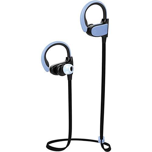 Vivanco Sport Air Running - Auriculares (Inalámbrico, Dentro de oído, Binaural, Intraaural, 16 Ω, Azul)