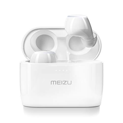MEIZU POP 2S - Auriculares inalámbricos con Bluetooth, control táctil y funda de carga inalámbrica