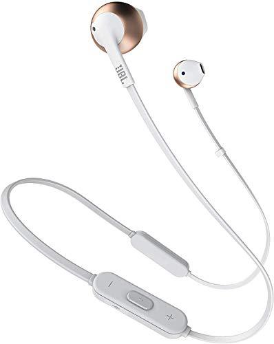 JBL Tune 205BT - Auriculares Inalámbricos intraurales con micrófono y mando a distancia con 3 botones, función de...