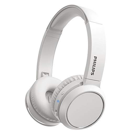Philips H4205WT/00 - Auriculares inalámbricos Bluetooth, On Ear (Bass Boost, 29 Horas de autonomía, función de Carga...