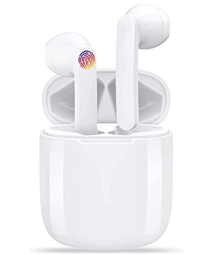 Auriculares Inalámbricos,Auriculares Bluetooth Deportivos 5.0 con Micrófono,Auriculares Bluetooth inalámbricos con...