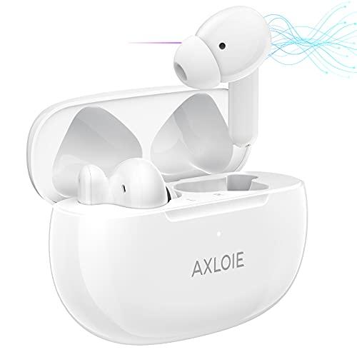 AXLOIE Auriculares Inalambricos, ANC Auriculares con Cancelación Activa de Ruido, Auriculares Bluetooth In-Ear con...