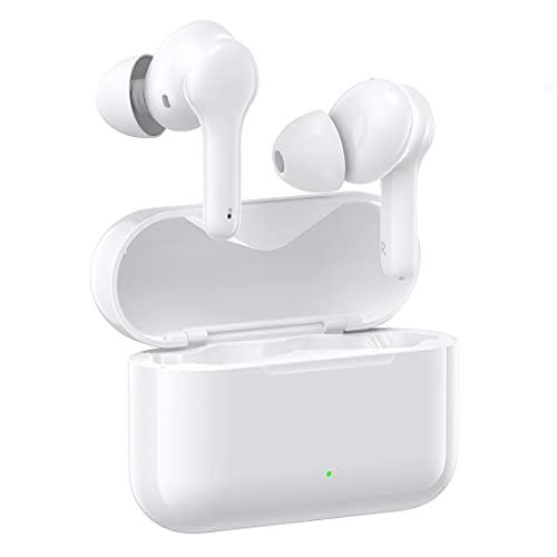Auriculares inalámbricos, Auriculares Bluetooth 5.0 en la Oreja Auriculares estéreo inalámbricos Verdaderos, Tiempo...