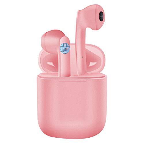 Auriculares Bluetooth - Inalámbricos - Estéreo - Deportivos - Auriculares in Ear con estuche de carga - Micrófono -...