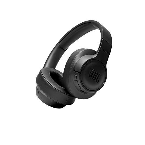 JBL T750BTNC Auriculares Over Ear inalámbricos con Bluetooth y cancelación de ruido activa, auriculares de diadema...