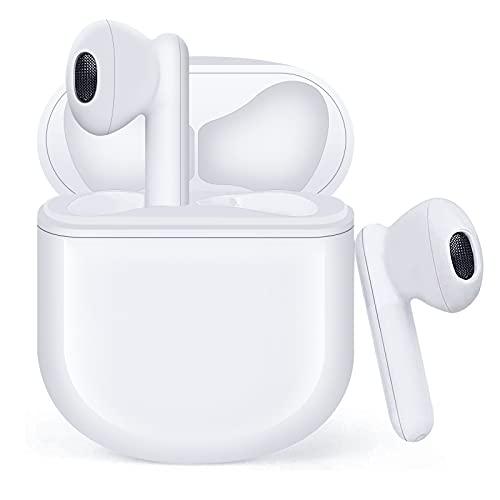 Auriculares Inalámbricos, Auriculares Bluetooth 5.1 HiFi Estéreo, Auriculares Inalambricos Bluetooth con Control...