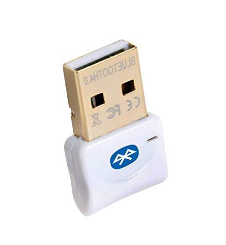 Maxesla Adaptador Bluetooth para PC, 4.0 USB Bluetooth PC, Bluetooth Transmisor y Receptor para PC con Windows...