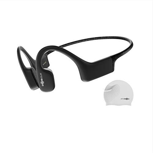 Aftershokz Xtrainerz, Auriculares MP3 de conducción ósea, Ideales para Utilizar en la práctica de la natación, con...