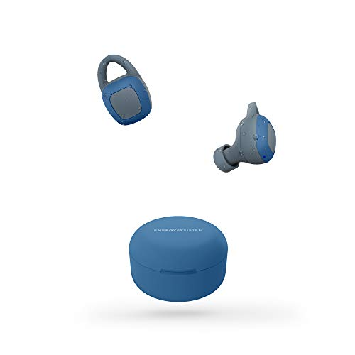 Energy Sistem Auriculares inalámbricos Sport 6 True Wireless Navy (True Wireless Stereo, IPX 7, Secure fit+, Bluetooth)