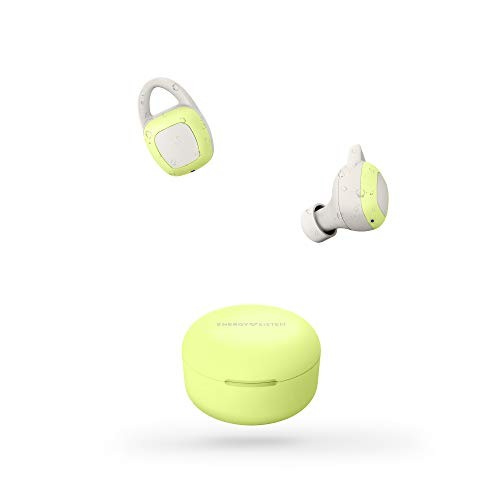 Energy Sistem Auriculares inalámbricos Sport 6 True Wireless Lima (True Wireless Stereo, IPX 7, Secure fit+,...