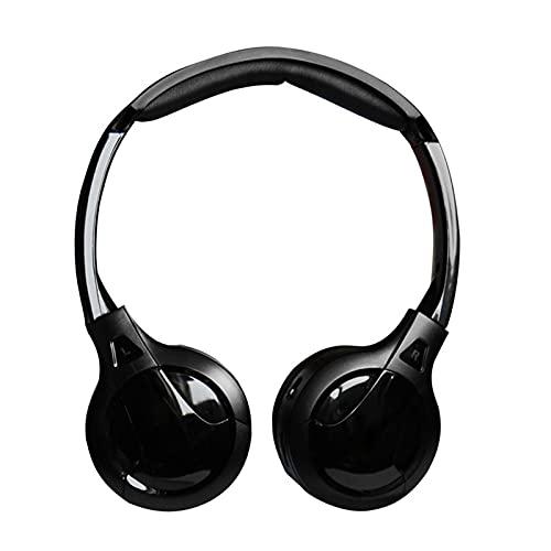 PINGYAYANG Auriculares inalámbricos Ajuste Especial para reposacabezas de automóviles Monitor estéreo Carrito...