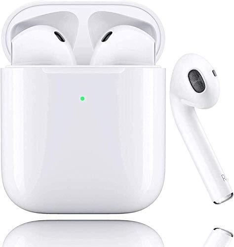 Auriculares Bluetooth 5.0 Auricular Inalámbrico Control Táctil con Graves Profundos In-Ear Auriculares Bluetooth con...