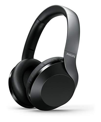Philips H8505BK/00 Auriculares de Diadema inalámbricos (Controlador de 40 mm, cancelación Activa de Ruido, 30 Horas de...