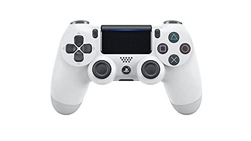 Playstation 4 - Mando inalámbrico Dualshock 4, Glacier White [Importación Alemana]
