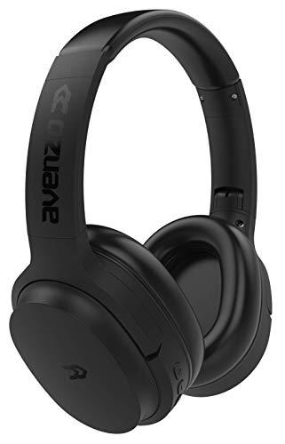 Avenzo - Auriculares Inalámbricos, Modelo AV-HP2003B, Con Bluetooth, Con Asistente de Voz, Función Manos Libres,...