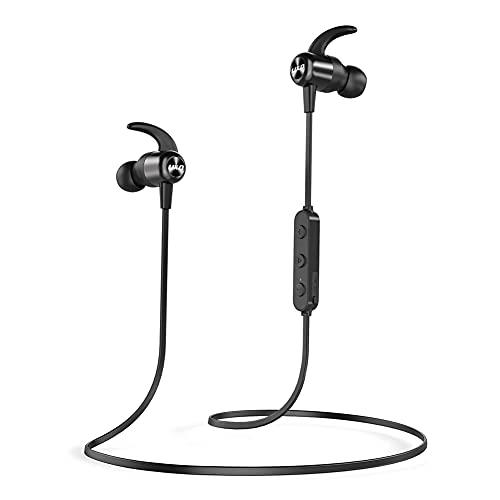 Auriculares Bluetooth 5.0, Auriculares Bluetooth Inalambrico con 20H Tiempo de Reproducción Sweatproof IPX7, CVC 8.0...