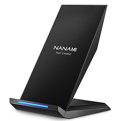 NANAMI Cargador inalámbrico rápida, 10W Qi Wireless Charger para Galaxy S21/S20/S10/S10+/S9/S9+/S8/S8+/S7/S6 Samsung...