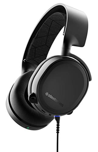 SteelSeries Arctis 3 Bluetooth - Auriculares de Juego con Cable e Inalámbricos para Nintendo Switch, PC, PlayStation 5,...