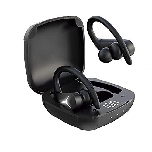 KSIX Sport Buds 2 Auriculares Inalámbricos para Deporte con Bluetooth 5.1 y Micrófono. Cascos Deportivos Resistentes...