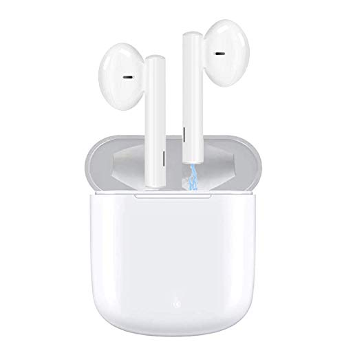 ASENTER Auriculares inalámbricos Bluetooth 5.0,Control táctil, IPX5 reducción del Ruido estéreo 3D HD, con...