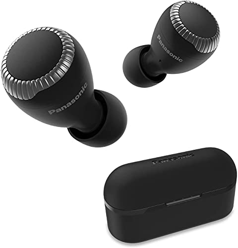Panasonic RZ-S300WE-K - Auriculares True Wireless inalámbricos con Sensor táctil (Bluetooth, Estuche de Carga,...