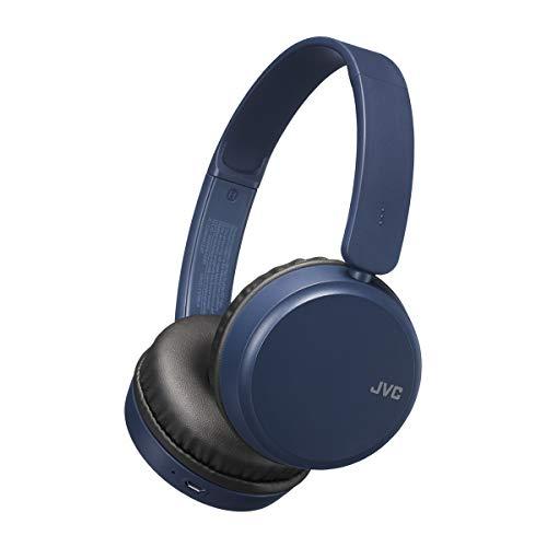 JVC HAS35BTAU - Auriculares de Diadema con Bluetooth, Color Azul