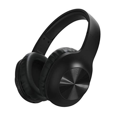 Hama 00184023 - Auriculares inalámbricos Bluetooth, Auriculares inalámbricos Tipo Diadema, Calypso Negro