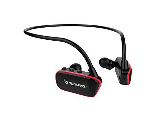 Sunstech Argos - Reproductor MP3 de 8GB, Sumergible, Impermeable, IPX8, Diseñado para el Deporte y la Natación,...
