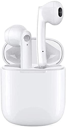 Auriculares Bluetooth, Auriculares Inalámbricos Bluetooth 5.1 en la Oreja con Caja de Carga Rapida, Micrófono...