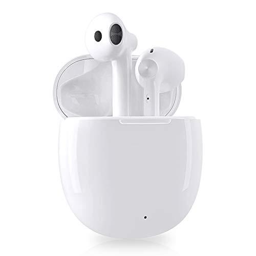 Auriculares Bluetooth, Auriculares inalambricos Bluetooth 350mah en la Oreja con Caja Carga Rapida, Control Táctil,...