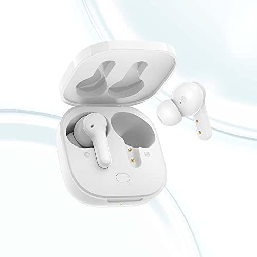QCY T13 Auriculares Bluetooth Inalambricos Deportivos Bluetooth 5.1, 40Horas de Reproduccion, Auriculares Inalambricos...