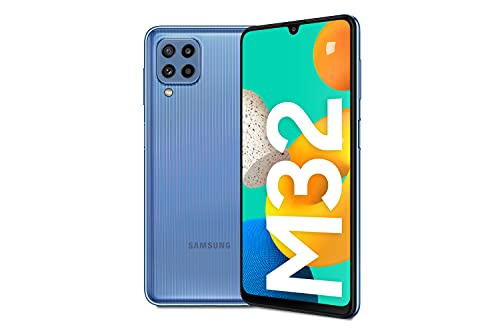 Samsung Smartphone Galaxy M32 con Pantalla Infinity-U FHD sAMOLED de 6,4 Pulgadas, 6 GB de RAM y 128 GB de Memoria...