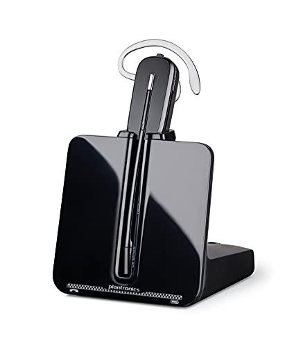Plantronics CS540/A - Auriculares con micrófono para teléfonos digitales (Inalámbrico, DECT, 6.8 GHz, 118 Db, 85 Db,...