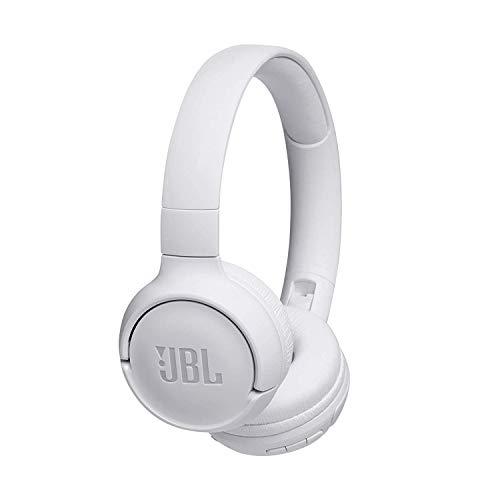 JBL Tune500BT – Auriculares supraaurales inalámbricos con conexiones multipunto y asistente de voz Google now o Siri...