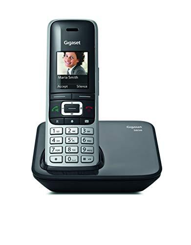 Gigaset S850 - Teléfono inalámbrico con manos libres, conexión Bluetooth, pantalla en color, agenda de 500 contactos,...