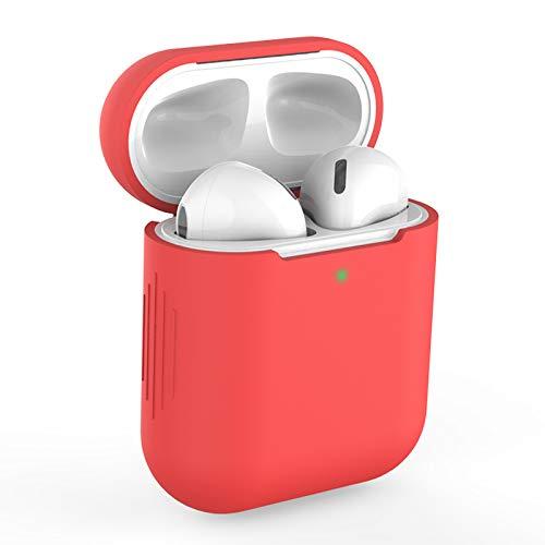 Funda AirPods Silicona Compatible con AirPods 2 & 1, KOKOKA Fundas Protectora de Silicona para AirPods LED Frontal...