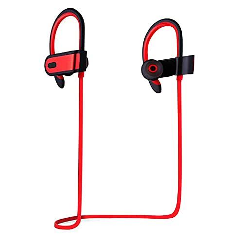 Auriculares Bluetooth, Auriculares Deportivos inalámbricos Auriculares internos Ligeros con micrófono con cancelación...