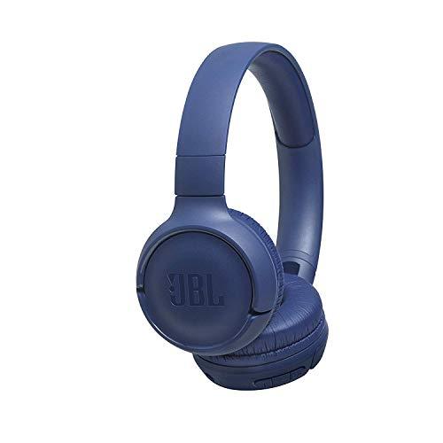 JBL Tune 500BT - Auriculares supraaurales inalámbricos con conexiones multipunto y asistente de voz, batería de 16 h,...