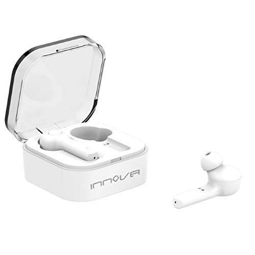 Innova 8436034142591 Auriculares Bluetooth Innova AUR-20 Blanco, Talla única