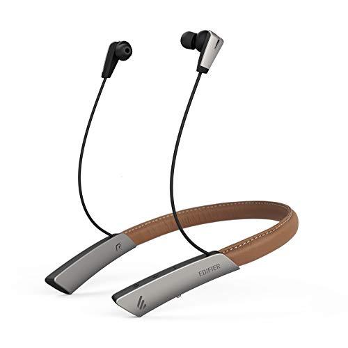 Edifier W380NB Auriculares Bluetooth, Auriculares inalámbricos con banda para el cuello con vibración de llamada,...